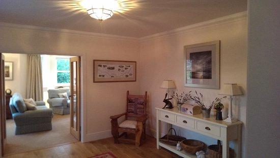 Hendersyde Farm Cottages: hallway