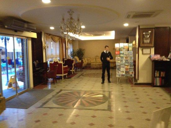 Hotel Sapphire: hall