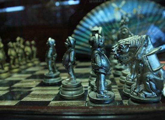 Don Quixote Iconographic Museum (Museo Iconografico del Quijote) : jogo de xadrez