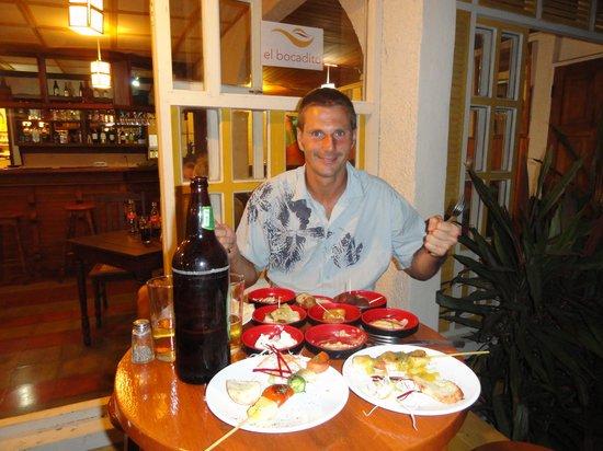El Bocadito Tapas Restaurante Bar: Et la suite!