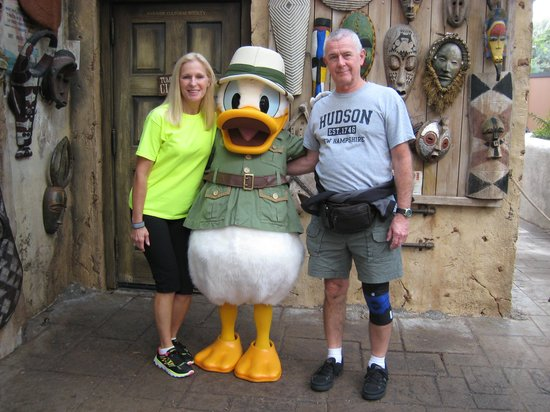 Tusker House: Us with Donald