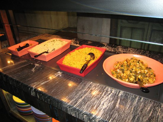 Tusker House: Some food choices