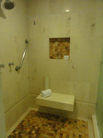 Sun Palace: Huge, gorgeous shower
