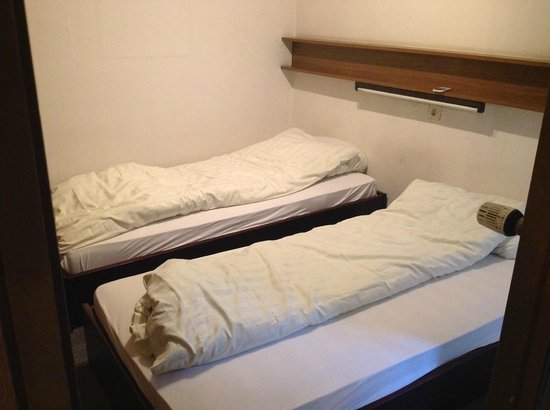 Stay City Hotels Dortmund: 2я комната - спальня