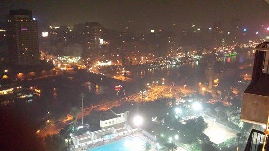 Sofitel Cairo El Gezirah: balcony view