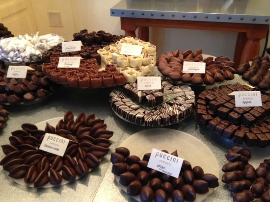 Puccini Bomboni : Some of the delicious chocolates