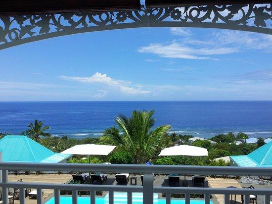Blue Margouillat Seaview Hotel: Vue de la chambre