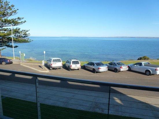 Aurora Ozone Hotel : vue de la chambre sur l'Australie