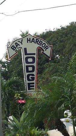 Bay Harbor Lodge: Bay Harbor Sign off Overseas Hwy