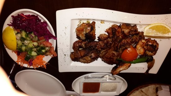 Cyprus Mangal : mix platter amazing well worth to eat in her.