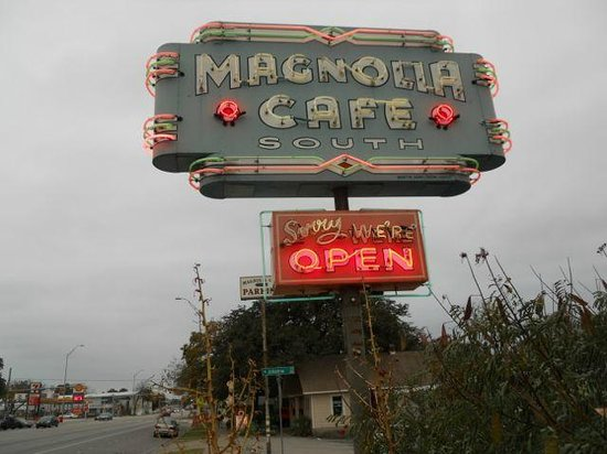 SoCo District: Magnolia Cafe - Sorry, we're open