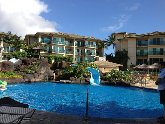 Waipouli Beach Resort: Beautiful pool area