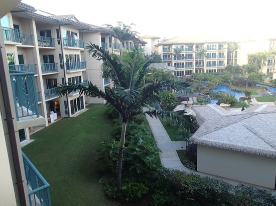 Waipouli Beach Resort: All the rooms over look the ocean!
