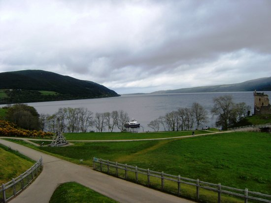 Loch Ness: Vista do lago