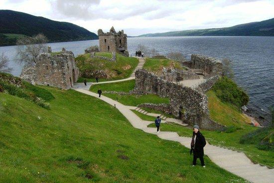 Loch Ness: A paisagem é linda.Precisa-de de monstr?