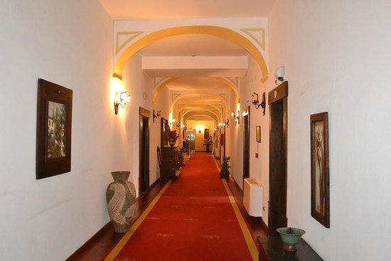 Hotel Sao Joao de Deus : In one of the corridores.