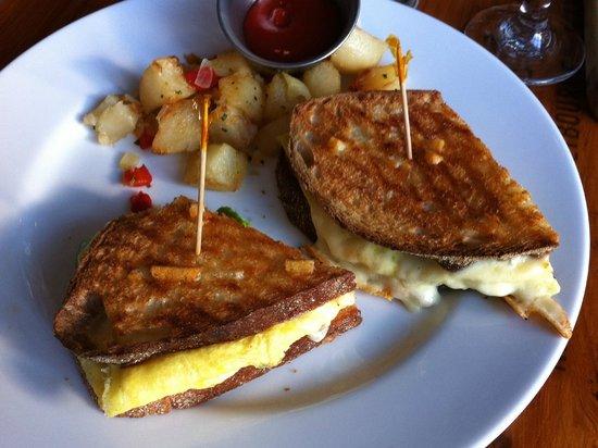 Tavern on Main: Breakfast Panini - from Brunch Menu