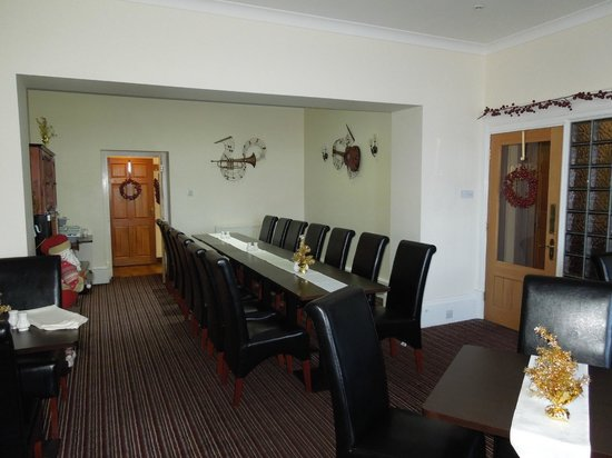 Craignelder Hotel: Small dinning room