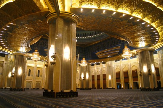 Grand Mosque: The main hall