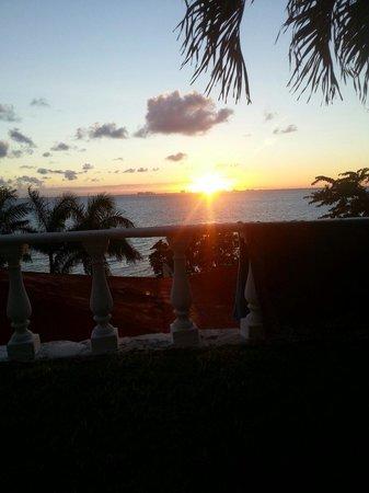 Hotel La Joya : Sunset at la joya