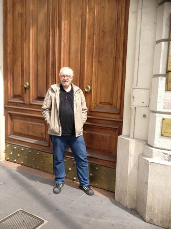 Vatican Vista: At our large outer door