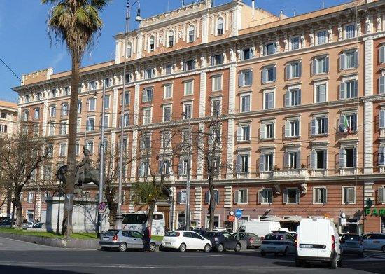Vatican Vista : Our building (1884)