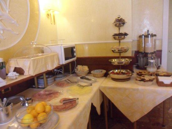 Hotel Miami: la colazione in mattina