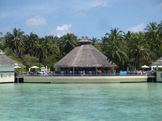 Ellaidhoo Maldives by Cinnamon: Blick zum Pool und Poolbar