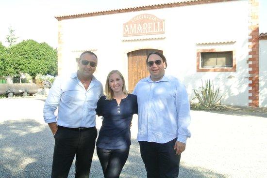 Giovanni and our Driver Francesco, Joe Banana Limos