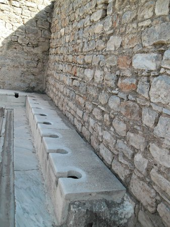 Ephesus Tours by OTTI Travel - Private Tours : Comunal Toilets for Roman Royalty - Fascinating