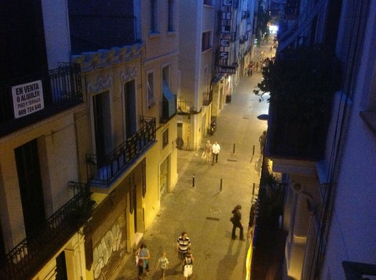 Inside Barcelona Apartments Sants: View from balcony