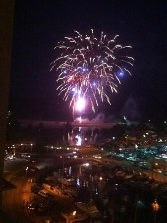 The Modern Honolulu: View of fireworks