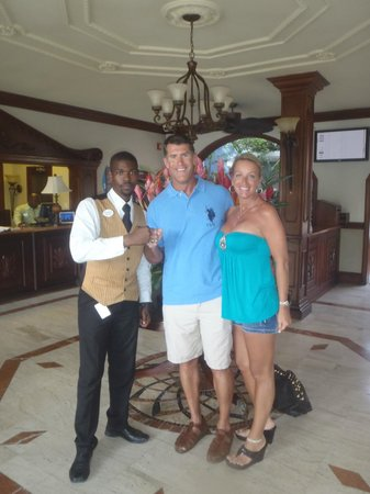 Sandals Royal Caribbean Resort and Private Island: Phillip our Butler