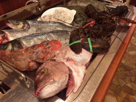 Ristorante il Gestore: Carrello del pesce