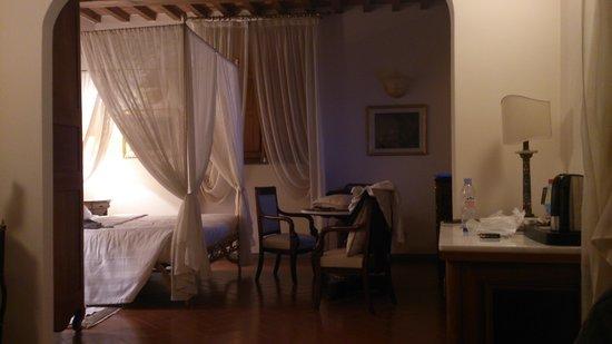 Villa Olmi Firenze : unser Zimmer