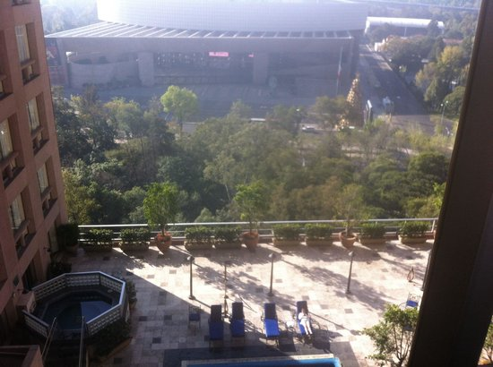 JW Marriott Hotel Mexico City: A great view of the Auditorium and the Chapultepec area!