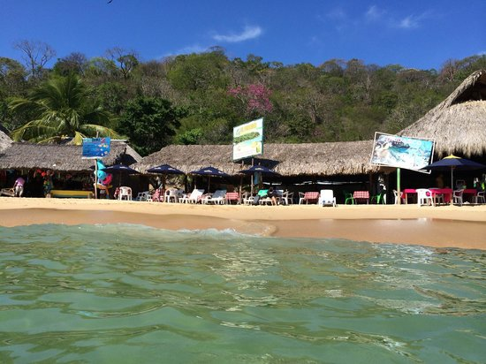Maguey Bay: View from water