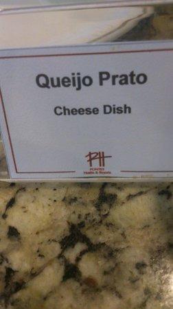 Mar Hotel Conventions: Tradução dos alimentos no café da manhã