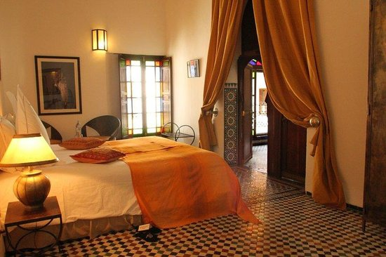 Riad Laaroussa Hotel and Spa: Yellow Room RL