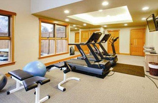 The Lake House at Chelan: Gym