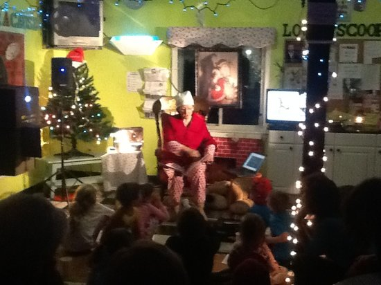 Beyond Vanilla Ice Cream Parlor: The Polar Express at the parlor!