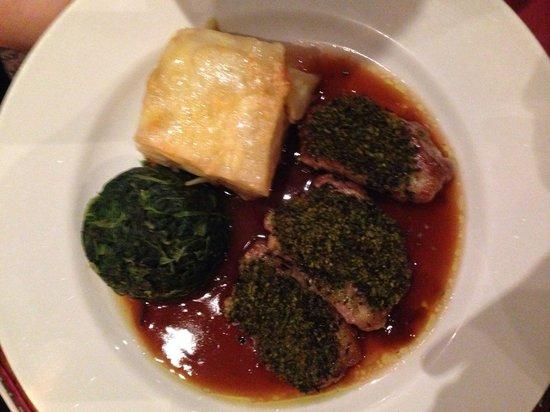 Auberge - Waterloo: Fillet d'agneau