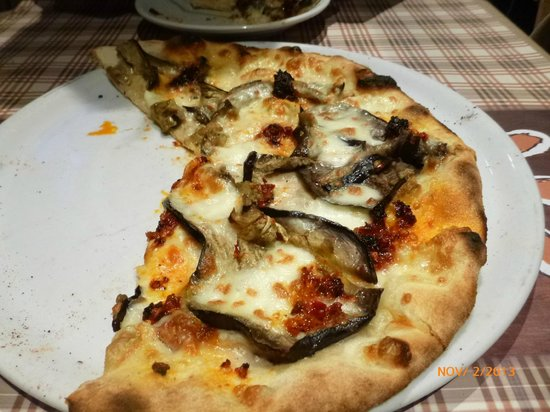 Osteria Pizzeria Margherita: Melanzane N'duja