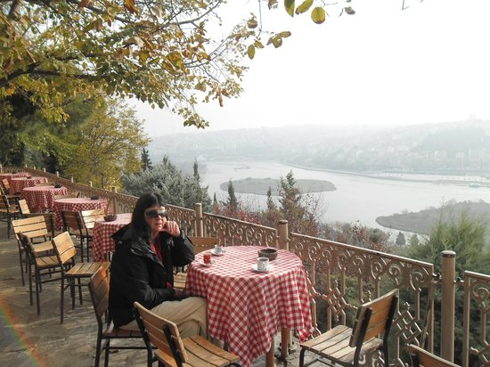 True Blue Tours - Day Tours: Coffe with a View of the Bosphorus