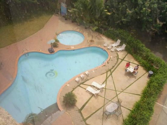 Hotel Brisas del Norte : piscina desde el 3 piso