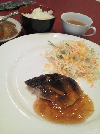 Pearl Hotel Yaesu: 魚のメイン ほっけ