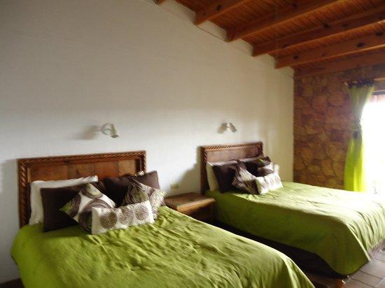 Hotel Divisadero Barrancas del Cobre: Habitación súper cómoda y acogedora…