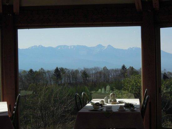 Auberge C'est La Vie: こんな素敵な景色を観ながら・・・