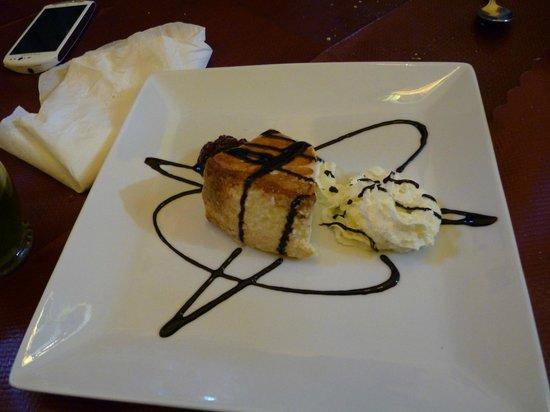 Meson Atalaya: tarta de queso