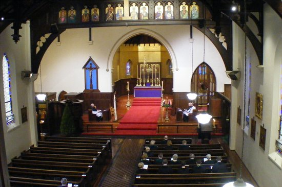 St. Peter's Church: View from organ gallery